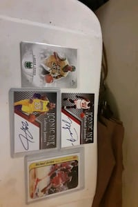 Jordan & Lebron trading card lot.......