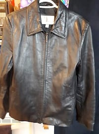 Black Leather Jacket  Port Colborne, L3K 2Z1