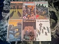 Walking Dead #164 164 Variant #165 -168 Comic Lot  Gaithersburg, 20877