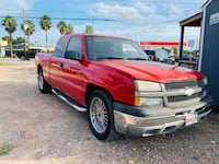 2003 Red Chevy Silverado Ex-Cab Houston