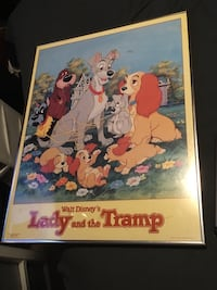 Walt Disney's Lady and the Tramp movie poster Lake Stevens, 98258
