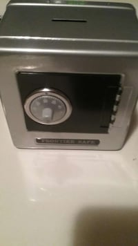 Gray frontier safe safety vault