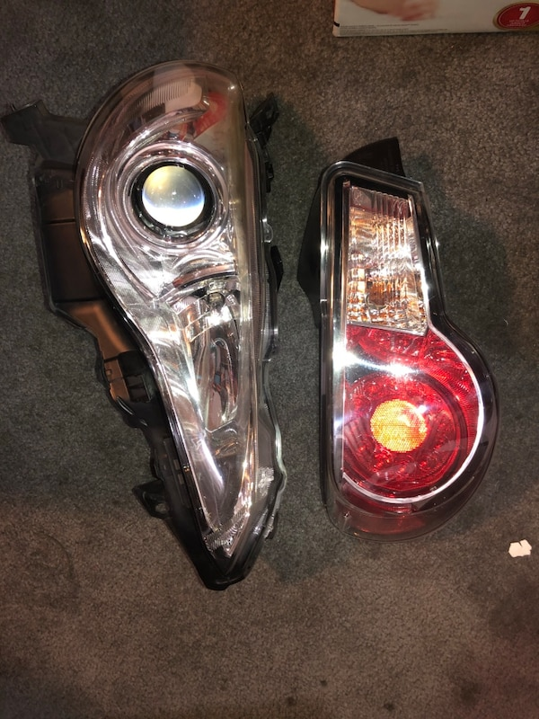 Headlights and tail lights