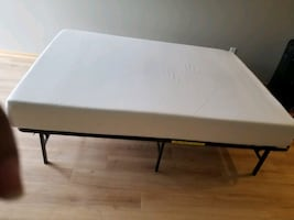 Twin mattress for free.