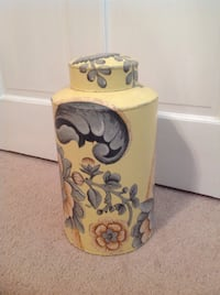 Painted metal canister Slidell, 70460