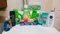 assorted household cleaning products lot Bryan