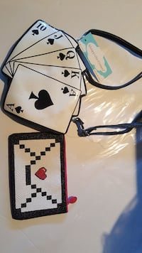 VEGAS Purse and coin purse BOTH for a great price