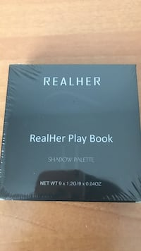 Realher play book eyeshadow palette unopened Vancouver, V5W