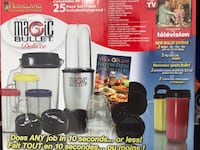 *Brand New* 25 piece Magic Bullet Deluxe Mississauga, L5N 8L7
