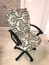 Desk chair reupholstered w custom fabric Los Angeles, 90026