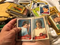 assorted baseball player trading cards Belle, 25015