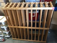 2 wine racks that used to be store displays.  Hold 100 bottles each.  Good condition but need to be cleaned since we moved recently.  There is also a little bit of residue where there used to be labels.  This would clean off easily with some goo gone and  Poquoson, 23662