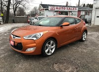 2012 Hyundai Veloster Certified/Accident Free/6 Speed/Backup Camera Scarborough, ON M1J 3H5, Canada