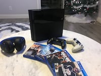 Ps4 bundle! xmas special! system, 4 games,  2 controllers, headset!!
