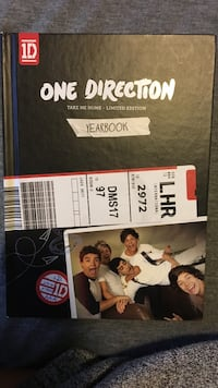 1d: take me home yearbook (limited edition) Burnaby, V5E 1A7