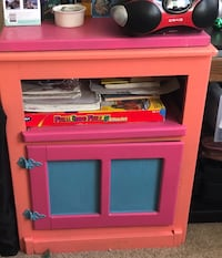 Pink and peach wooden cabinet NEED GONE Perris, 92571