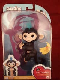 Authentic fingerling Finn from wowwee