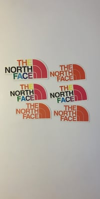 The North Face stickers Edmonton, T6A 0K1