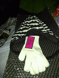 white and black hat, white gloves Suitland-Silver Hill, 20746