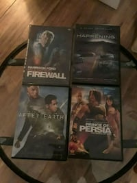 four assorted DVD movie cases Fort Myers, 33901