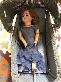 Antique doll with carriage  Edmonton, T5H