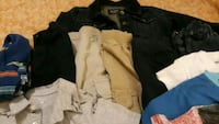 boys lot of 5 pairs of  pants and 12 shirts and 1  Martinsburg, 25401