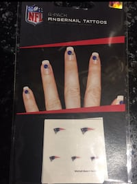 New England Patriots Fingernail Tattoos Cheshire, 06410