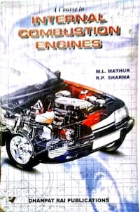 A book on Internal Combustion Engine 12932 km