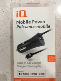 BNIB iPhone Car Chargers