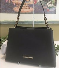 black Michael Kors leather tote bag Winnipeg, R2V 0L5