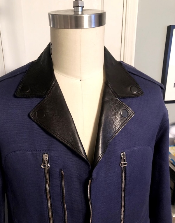 Men's Lanvin biker jacket size 52 (XL) leather paid $3,800 excellent condition. Only worn twice! 11925962-ff40-4f59-9fcf-c50ef6fbeed0