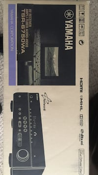 Yamaha AV Receiver Ampli-Tuner TSR-6750WA BRAND NEW (In Box) Washington