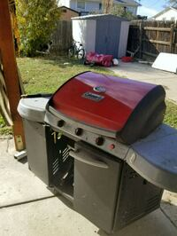 red and gray gas grill Englewood, 80110