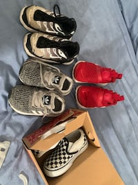 Baby shoes!! Size 6c. Need gone ASAP. 25$ for all  Rio Linda, 95673