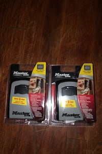 Master lock brand new I don't use them still in the box  Baltimore, 21207