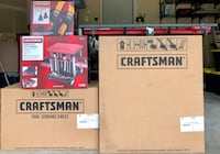 New Craftsman Tool Cabinet, Chest, Accessories & Tools