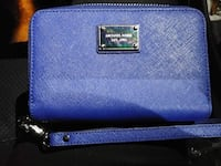 blue Michael Kors leather wristlet Winnipeg, R2V 2V6