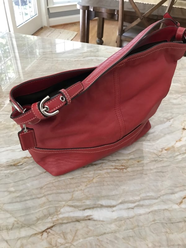 Coach Bucket bag-red 24cc1e22-408b-4694-9597-7fd54bdd0055