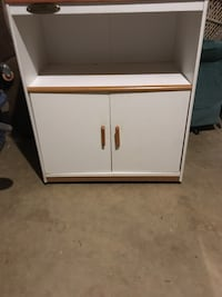 white and brown wooden cabinet Kernersville, 27284