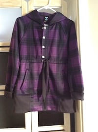 Women's purple and black button up jacket Osoyoos, V0H 1V3