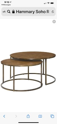 Nesting Cocktail Tables (set)