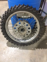 250cc sand tire and rim