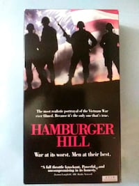 Hamburger Hill vhs