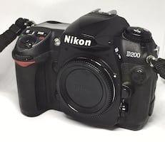 Nikon D200 with 18-55mm Lens and more