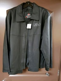 Mens brand new leather jacket Surrey, V3W 1E6