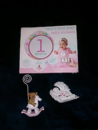 Baby's first Year Belly Stickers BN with Teddy Bea Chesapeake, 23454