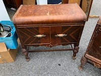 Large Vintage solid nightstand Rockville, 20852