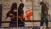 Brent Weeks The Way of Shadow trilogy book