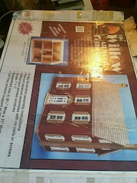the willow  all wood dollhouse kit from 1993 Berryville, 22611