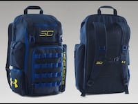 UNDER ARMOUR UA STEPH CURRY SC30 STORM BACKPACK WARRIORS BLUE YELLOW Oceanside